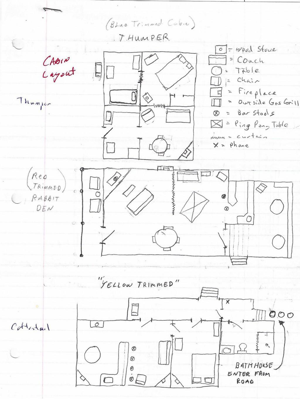 thumper bunny lane cabins. Black Bedroom Furniture Sets. Home Design Ideas