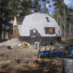 Little Dome Outside Construction