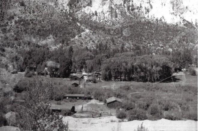 Wrights Lodge Approx 1940, now bunnylane