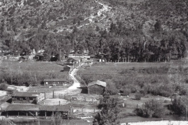 Wrights Lodge about 1940, now most all gone